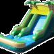 14' palms wet dry-slide